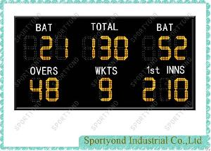Electronic Led Digits Cricket Scoreboard
