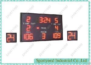 electronics led basketball scoreboard 24 sec attack clock