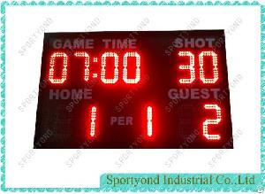 electronics water polo scoreboard 30sec shot timer