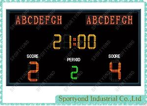Football Electronic Led Scoreboard