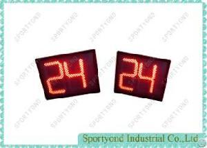 Led 24 Sec Shot Clock For Basketball Game , 14 Seconds Timer For Basket Sports