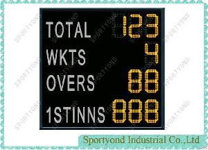 led cricket electronic digital scoreboard