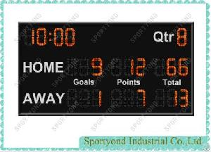 Led Electronic Australia Football Scoreboard