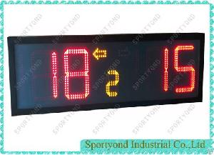 Led Electronic Digital Portable Scoreboard With Built-in Battery Support