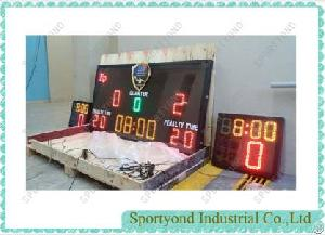 Water Polo Match Scoring Board With 30 Sec Shot Clocks