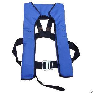 Boat Water Lifesaving Inflating Life Vest Jacket Adult