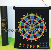 magnetic dart board dartboard