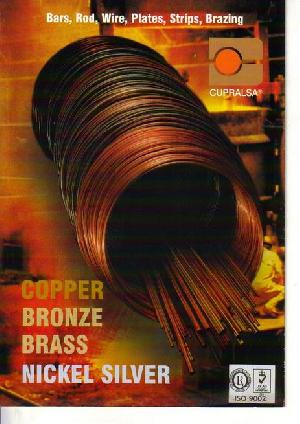 Brass Bronze Copper Nickelsilver Billets, Bars, Rod, Wire And Strips