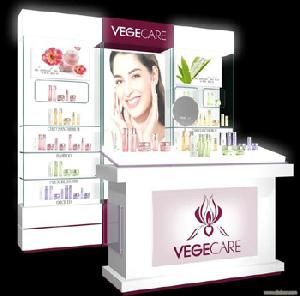 Cosmetic Display Shwocases In The Retail Shop | Bestymerry | Import