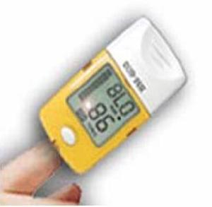 pulse oximeter display format lcd