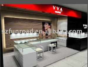 Sell Jewelry Display Case, Display Cabinet And Showcase With Glass Top Led Light