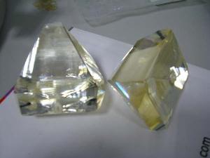 Ktp Nonlinear Crystals Potassium Titanyl Phosphate For Opo Laser System Application