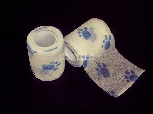 pet bandage aid kit adhesive stick non woven facbric pure cotton