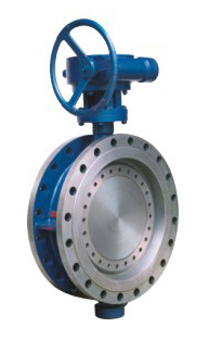 Flanged Metal Seated Butterfly Valve