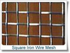 2 Inch X2 Inch Mesh Electro Galvanized Square Wire Mesh