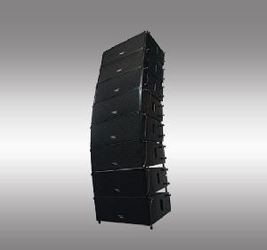 trans audio compact lightweight line array loudspeaker mini281