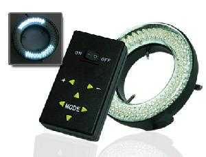 4 Mode Light Control, Adjustable Brightness, 144 Led Microscope Camera Ring Light 4zone Control