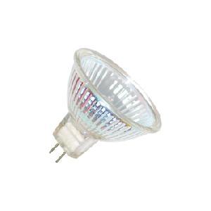 50w Gu5.3 Clear Aluminium Wide Flood Dichroic Bulb