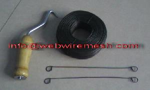 Rebar Tie Wire, Double Loop Tie Wire, Concrete Reinforcing Accessory For Sale