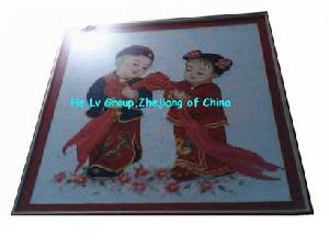 Supply And Customize Various Chinese Wedding Embroidery Bridel And Bridegroom
