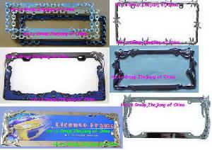 Produce And Customize Various License Plate Frame