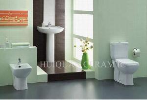 Toilet, Pedestal Basin , Bidet