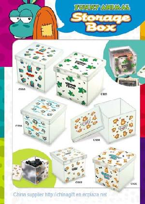 funny animal storage box