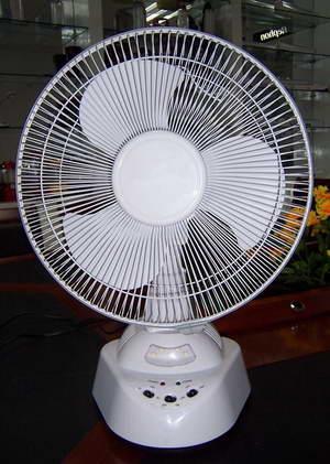 rechargeable fan 5012f