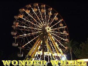 amusement rides wonder wheel