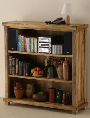Mango Wood Display Unit, Bookcase, Indian Furniture, Home Furniture