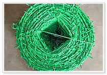 pvc barbed wire
