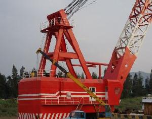 400t Floating Crane For Sale, Price 5.75 Million Usd