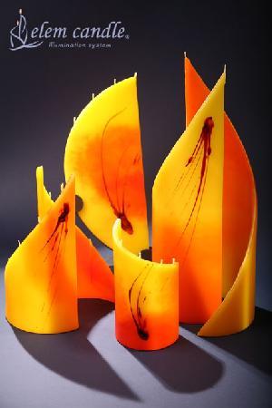 elem candle illumination system handmade jerzy madrzyk