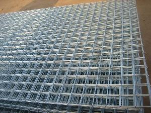 Galvanized Steel Wall Shelves, Wire Grid For Sale