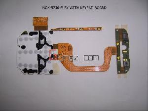 Nokia 5730 Flex With Keypadboard 6260s Joystick Board Lg Km500 Flex