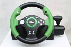 Sell Ps2 / Usb Steering Wheel With Clamps For Fixed