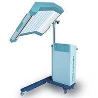 uv phototherpy lamp dermatology treatment radiation