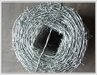 Galvanized Iron Barbed Wire Hot Dipped , Electro Galvanized Barbed Wire