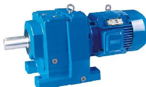 r inline coaxial helical gear box motors gearmotors geared
