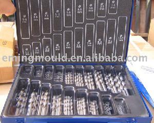 170 Pcs Hss-g Twist Drills Bits Din 338 In Metal Box