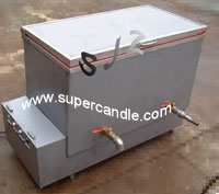 Oil-jacket Wax Melter, Direct Heat Wax Melting Machine, Candle Making, Candle Production, Tealight M