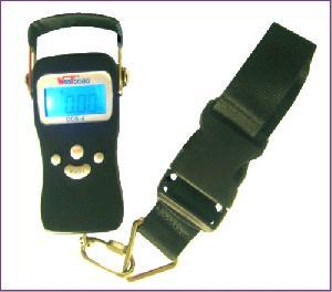 Digital Portable Strap Scale 50kg / 20g Aluminous Shell, Lcd Blue Backlight Firm Strap.