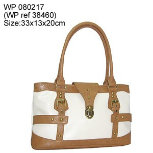 pvc pu ladies handbag