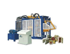Qft10-15 Block Brick Making Machine With Concrete Mixer And Batching Plant