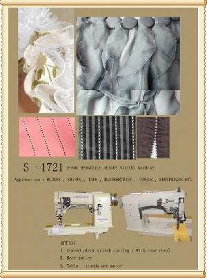 Twin Needle Hemstitch Picot Stittch Sewing Machine