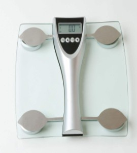 Body Fat And Body Composition Analysis Scale Max Capacity 150kgs Graduation 1 Kg