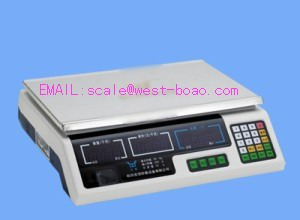 Electronic Pricing Scales 24keys Platfrom Size 35 23cm Capacity 15kg / 5g