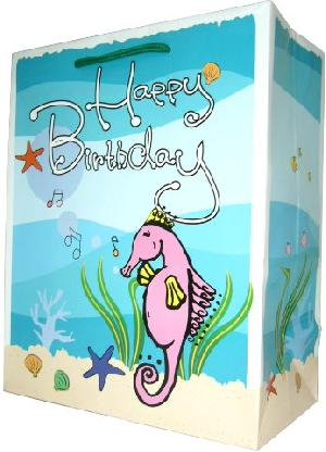 Sell Birthday Design Paper Carrier Bags