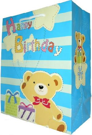 Sell Design Custom And Own Brand Paper Carrier Bags Birthday