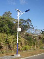 solar 30w street light